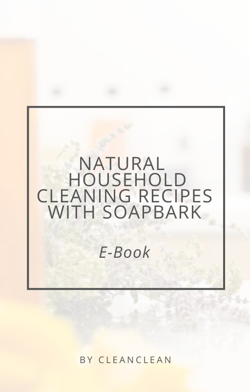 natural and chemical-free recipes for making your own home cleaning products with soapbark cleanclean