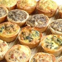 Assorted Breakfast Mini Quiches | Mushroom Catering, Sydney's Premier Corporate, Private and Event Caterers