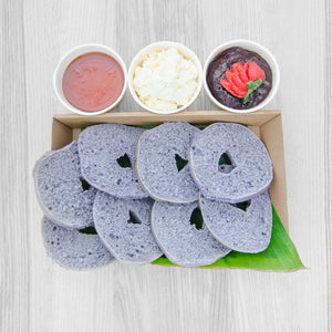 Blueberry Bagel box (served warm) | Mushroom Catering, Sydney's Premier Corporate, Private and Event Caterers