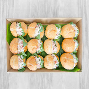 Chicken Caesar roll box | Mushroom Catering, Sydney's Premier Corporate, Private and Event Caterers