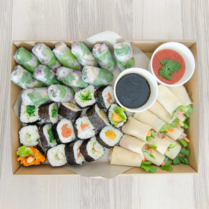 Cold Asian finger food Platter