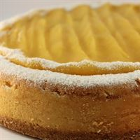Double Baked Lemon Curd Cheese Cake
