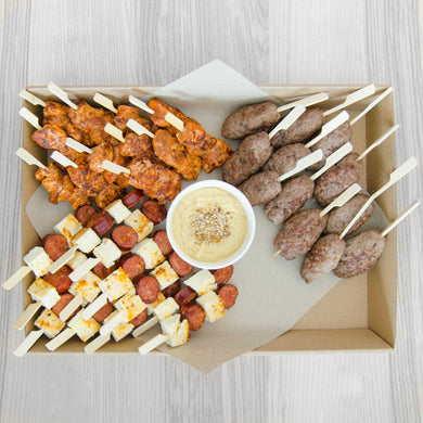 Meat lovers platter (served warm) | Mushroom Catering