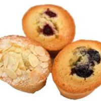 Assorted Daily Baked Friands (Gluten Free) | Mushroom Catering, Sydney's Premier Corporate, Private and Event Caterers