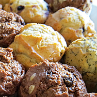 Mini Assorted Muffins | Mushroom Catering, Sydney's Premier Corporate, Private and Event Caterers