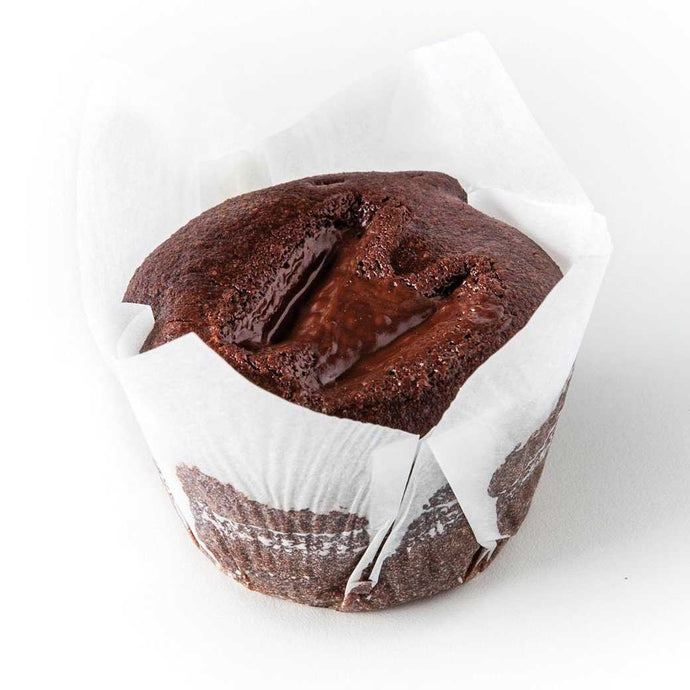Organic vegan gluten free chocolate muffin (box of 4) | Mushroom Catering, Sydney's Premier Corporate, Private and Event Caterers