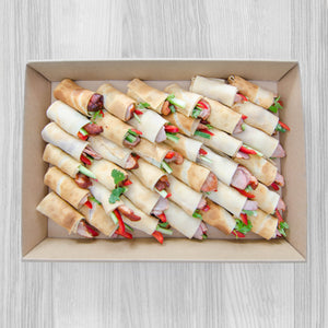 Peking duck pancake box (36) | Mushroom Catering