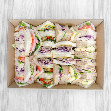 Sliced Sandwich Box (assorted fillings) | Mushroom Catering