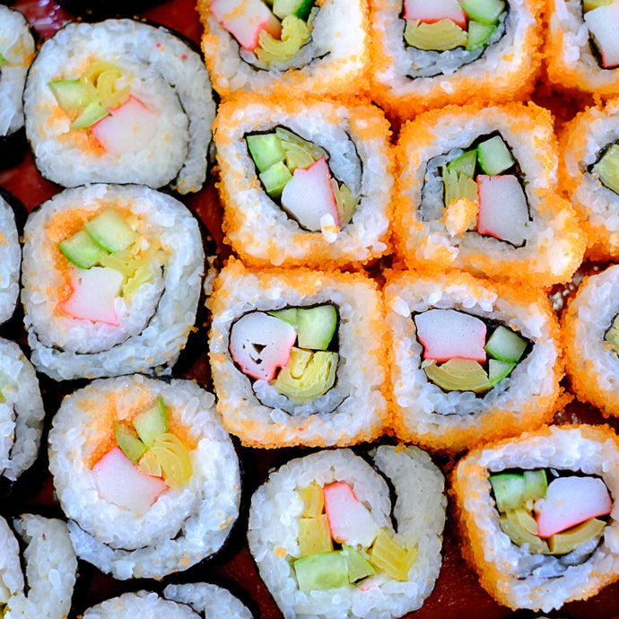 Sushi Roll Platter (Large 50 pieces) | Mushroom Catering
