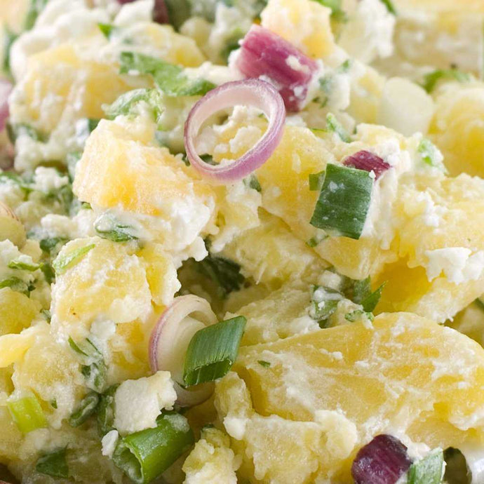Baby Potato & Spanish onion Salad