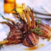 Frenched Lamb Cutlets with Rosemary