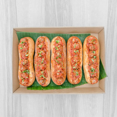 Meat ball sub box (served warm) | Mushroom Catering, Sydney's Premier Corporate, Private and Event Caterers