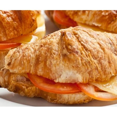 Cocktail croissant filled w tomato & soft brie cheese | Mushroom Catering, Sydney's Premier Corporate, Private and Event Caterers