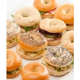 Mini Gourmet Bagels | Mushroom Catering, Sydney's Premier Corporate, Private and Event Caterers