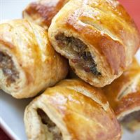 Petite Sausage Rolls (per dozen) | Mushroom Catering, Sydney's Premier Corporate, Private and Event Caterers