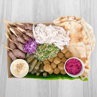 Lebanese Cold Platter | Mushroom Catering, Sydney's Premier Corporate, Private and Event Caterers