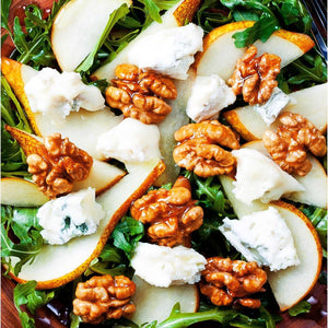 Mix Leaf, Pear, Walnut, Orange & goats cheese Salad | Mushroom Catering, Sydney's Premier Corporate, Private and Event Caterers