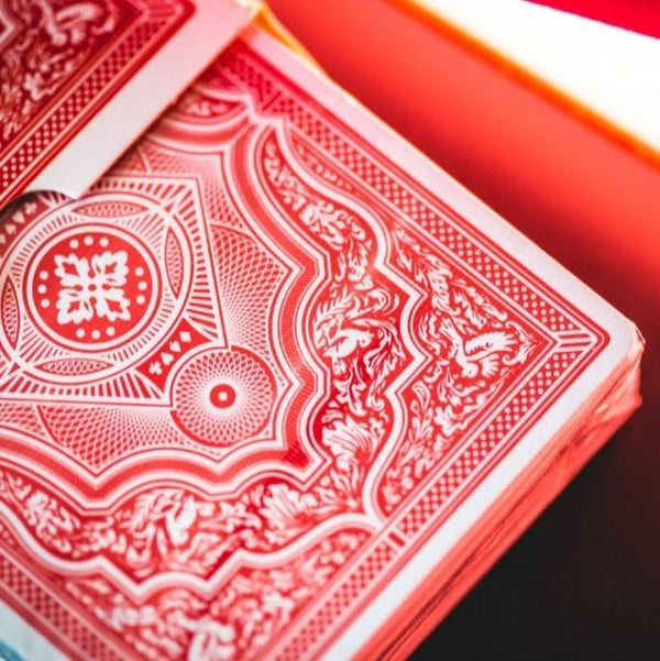 Ellusionist Playing Cards Cohorts Red Playing Cards