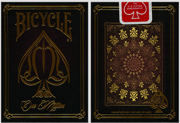 murphy's Magic Playing Cards Bicycle One Million Deck (Red) by Elite