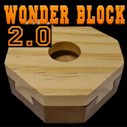Murphy's Magic Puzzle Box Default Wonder Block 2.0 (New Method) by King of Magic - Trick