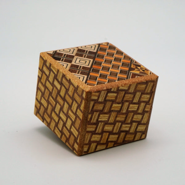 Japanese Puzzle Box Kobako 7steps Yosegi
