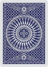 Theory11 Playing Cards Tally-Ho Circle - Blue