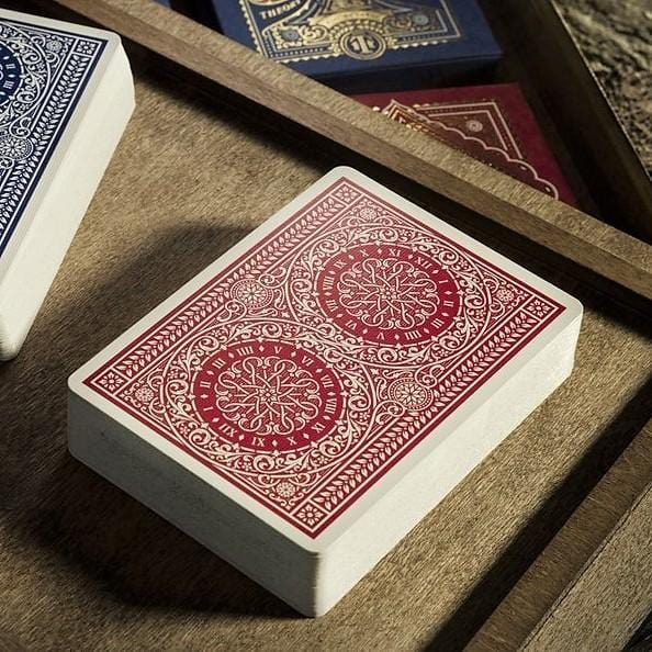 Theory11 Playing Cards Tycoon - Red