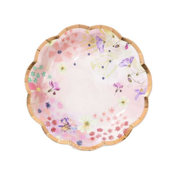 Blossom Girls Plates - Whoot Party Boutique