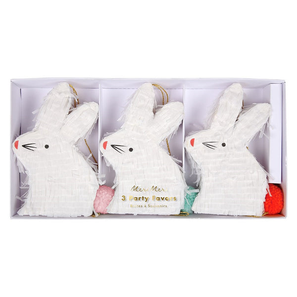 Mini Bunny Favor Piñatas - Whoot Party Boutique