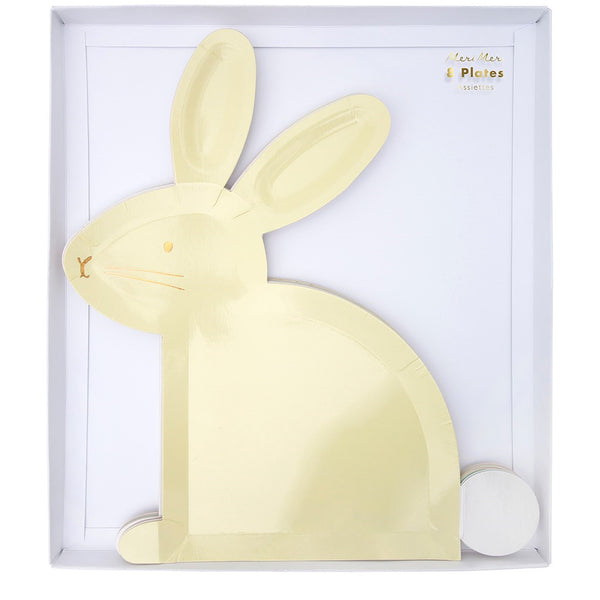 Pastel Bunny Plates - Whoot Party Boutique