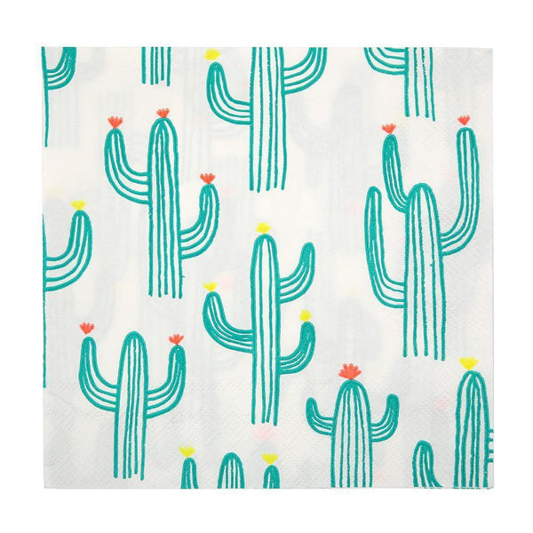 Cactus Napkins (large) - Whoot Party Boutique