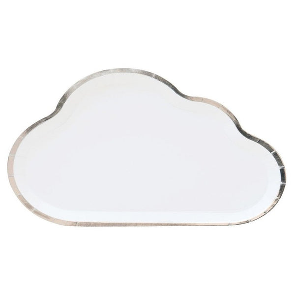 Cloud Plates - Whoot Party Boutique