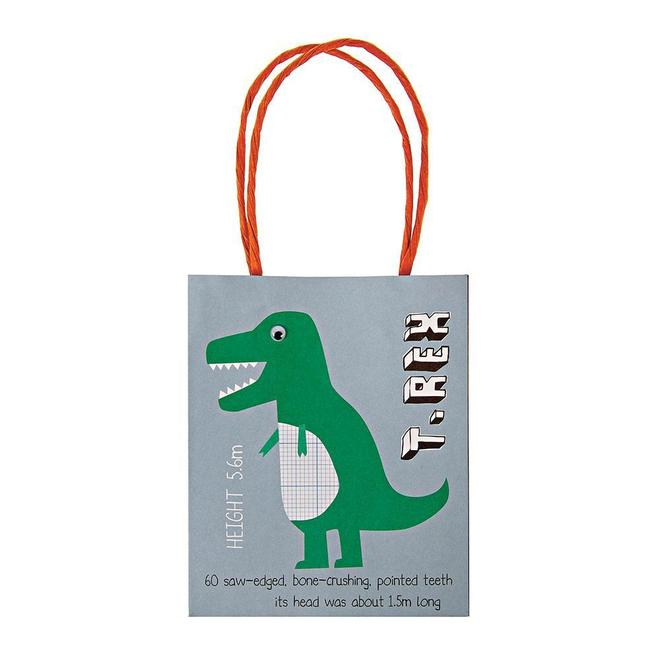 Dinosaur Party Bags - Whoot Party Boutique