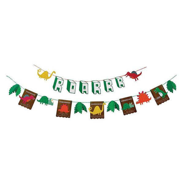 Dinosaur Party Garland - Whoot Party Boutique