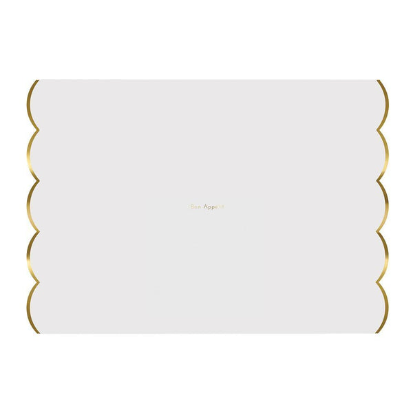 Gold Foil Placemats - Whoot Party Boutique