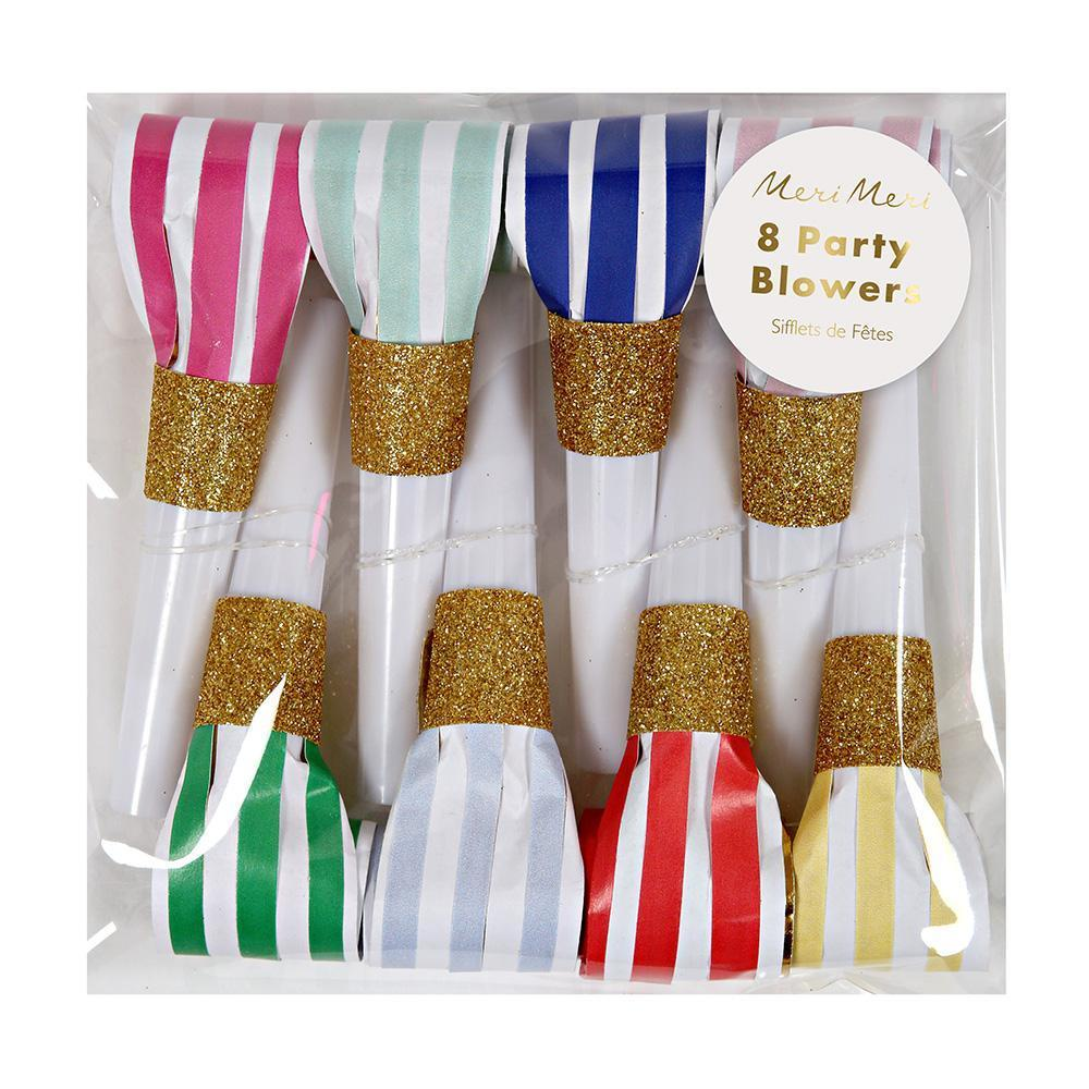 Happy Birthday Party Blowers - Whoot Party Boutique