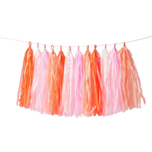 Pink Tassel Garland - Whoot Party Boutique