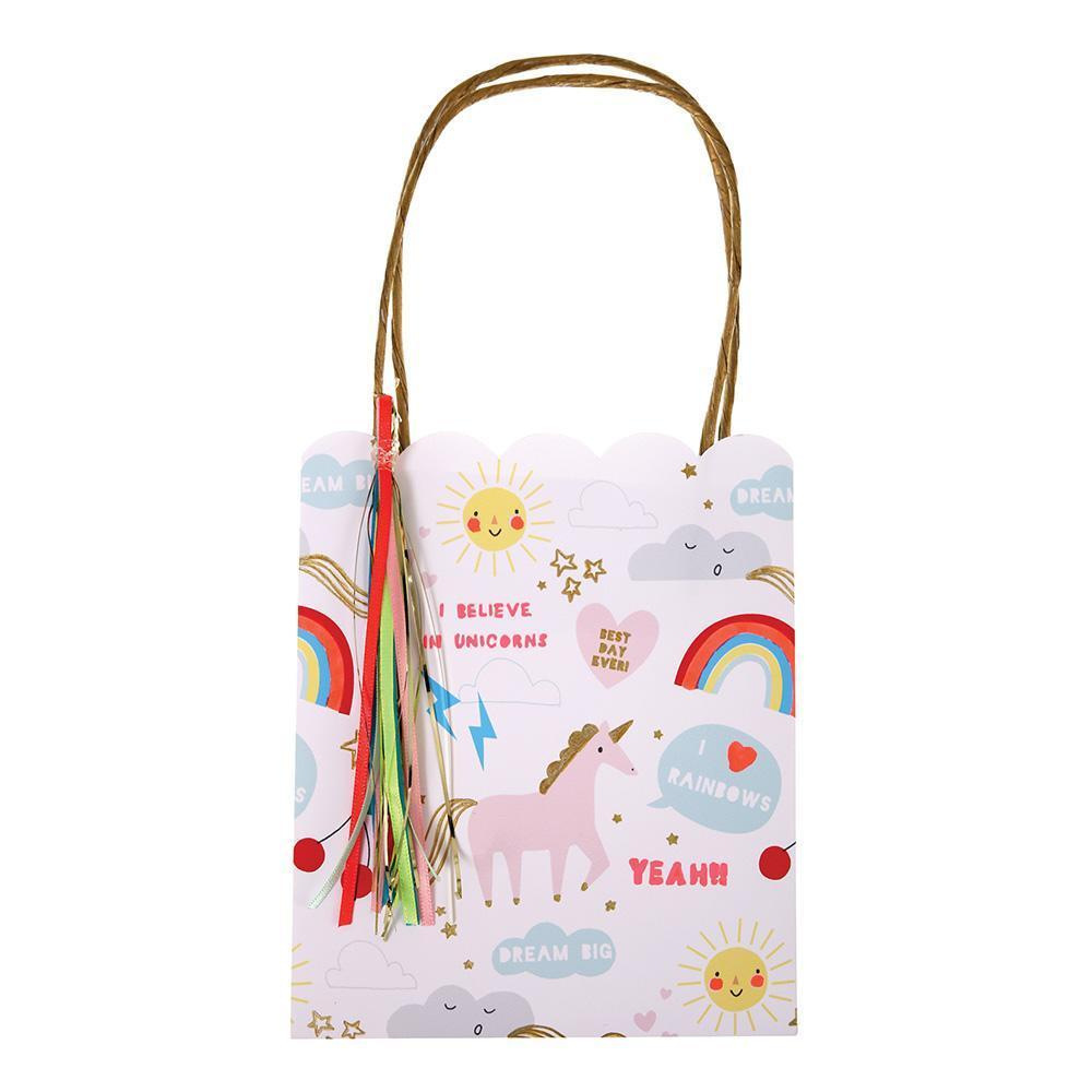 Rainbow & Unicorn Party Bags - Whoot Party Boutique