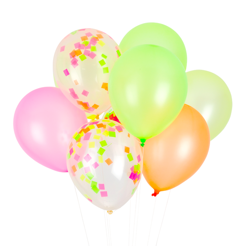Neon Classic Balloons - Whoot Party Boutique