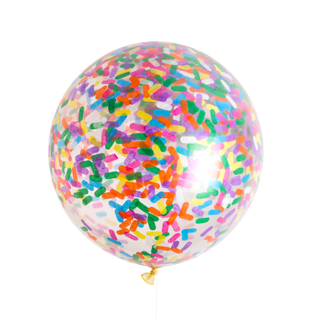 Sprinkle Jumbo Confetti Balloon - Whoot Party Boutique