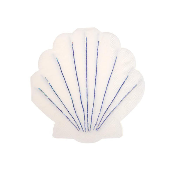 Shell Napkins (Small) - Whoot Party Boutique