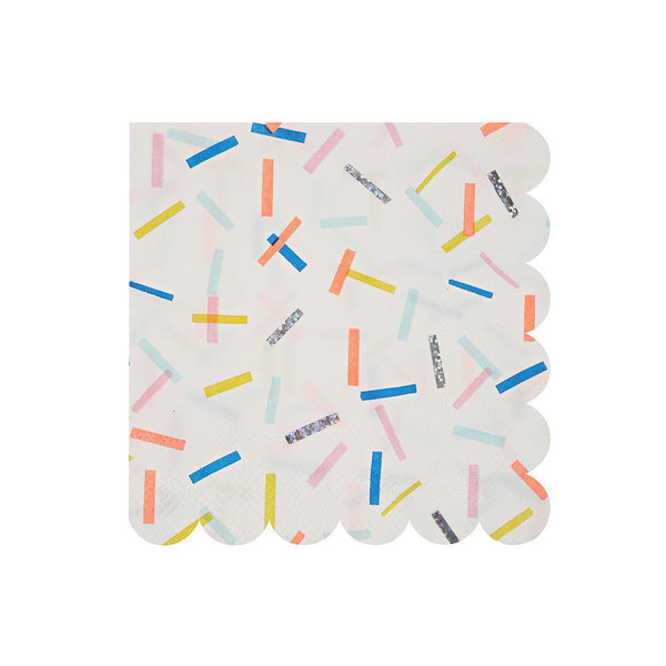 Sprinkles Napkins (small) - Whoot Party Boutique