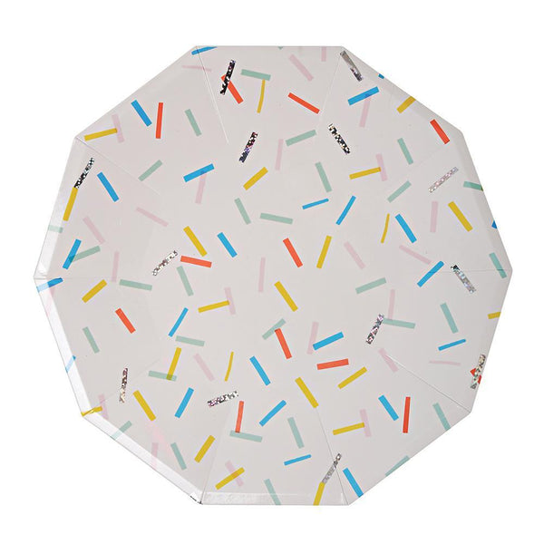 Sprinkles Plates (large) - Whoot Party Boutique
