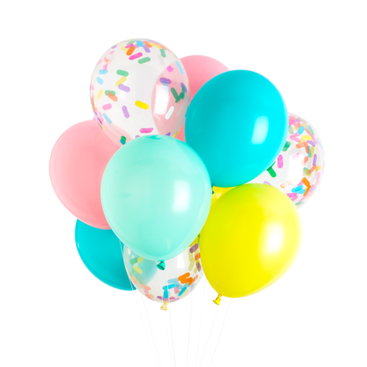 Ice Cream Classic Balloons - Whoot Party Boutique