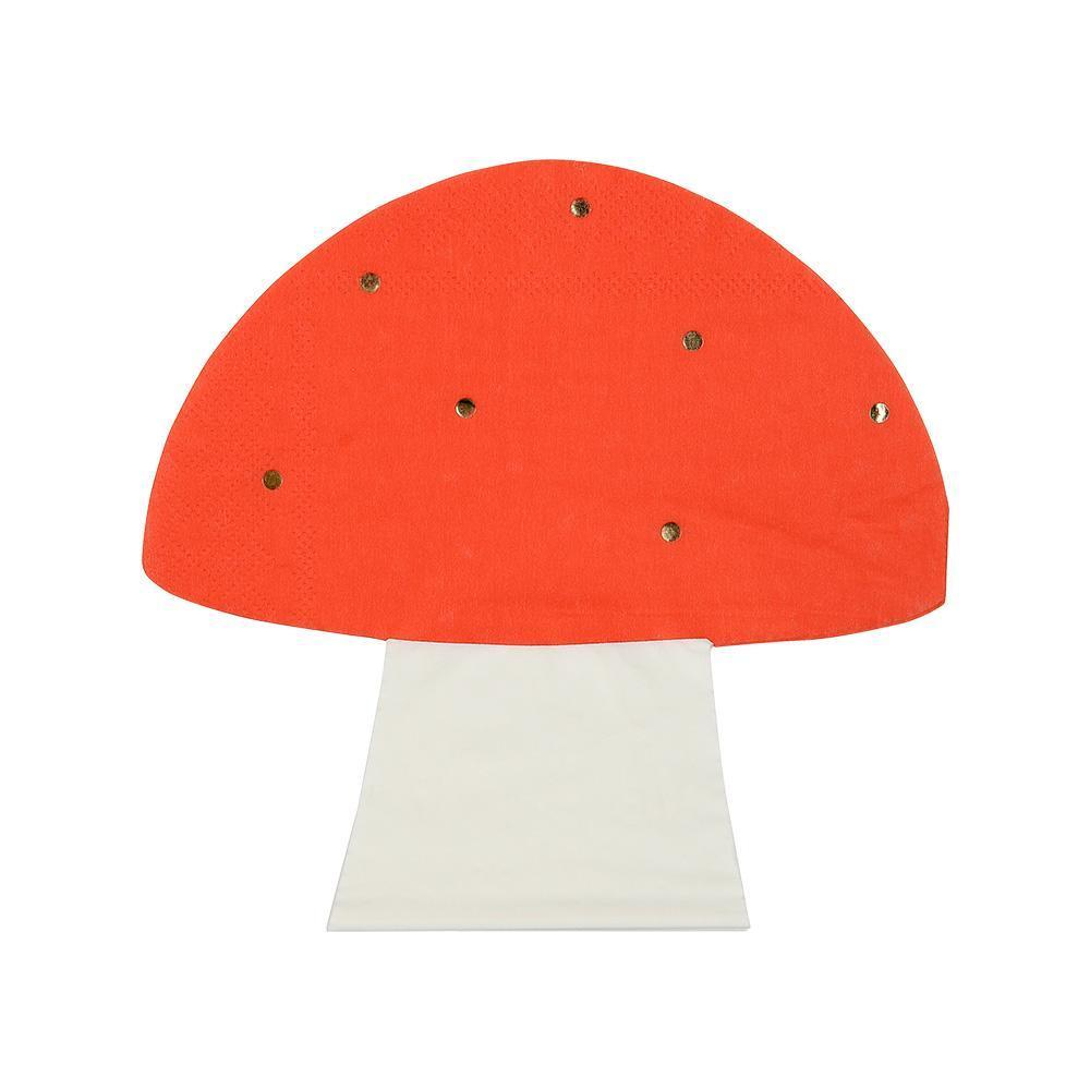 Toadstool Napkins - Whoot Party Boutique