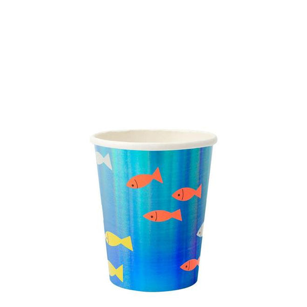 Under The Sea Shark Cup - Whoot Party Boutique