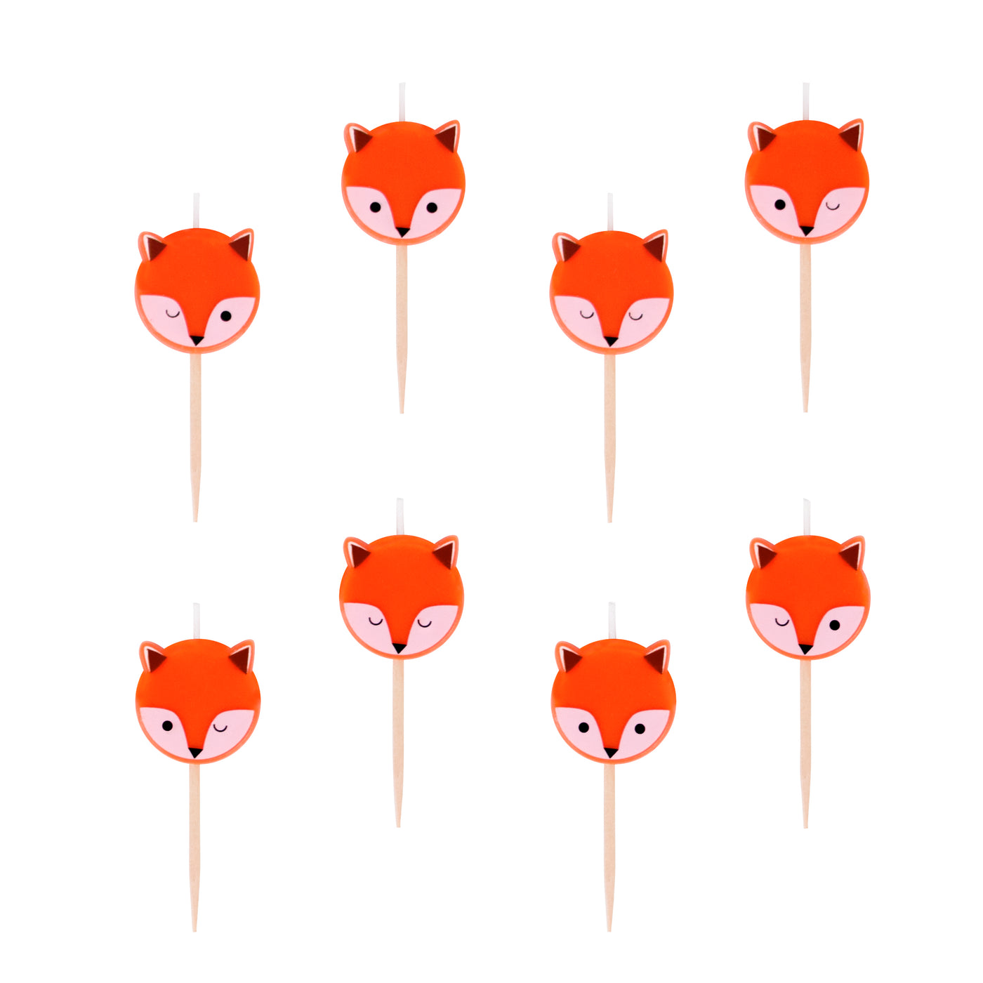 Mini Fox Candles - Whoot Party Boutique