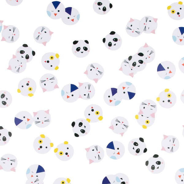Mini Animal Confetti - Whoot Party Boutique
