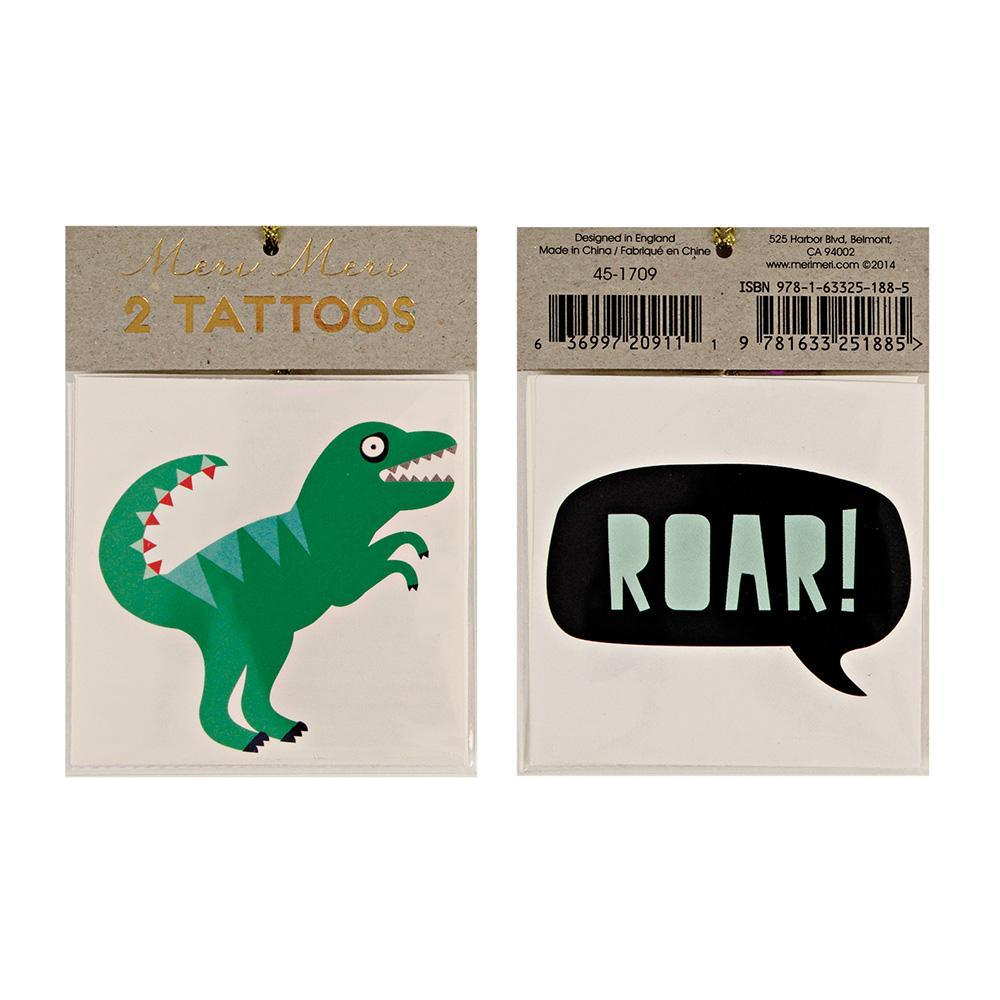 Dinosaur Tattoos - Whoot Party Boutique