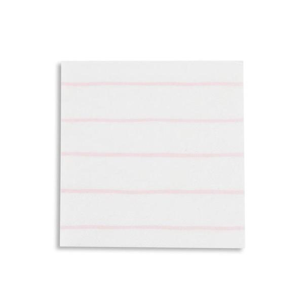 Frenchie Blush Striped Petite Napkins - Whoot Party Boutique